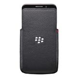 BlackBerry® Bolsa em couro para Z30 (Preto )